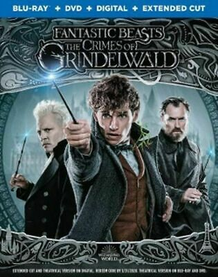 Fantastic Beasts: The Crimes of Grindelwald w/Slipcover (Blu-ray, DVD, Digital)