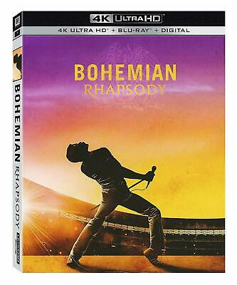 Bohemian Rhapsody w/Slipcover (4K Ultra HD, Blu-ray, Digital) Rami Malek
