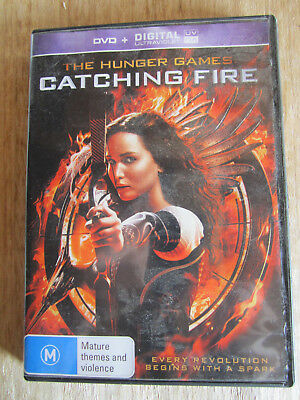 Dvd The Hunger Games Catching Fire  ** Must See **