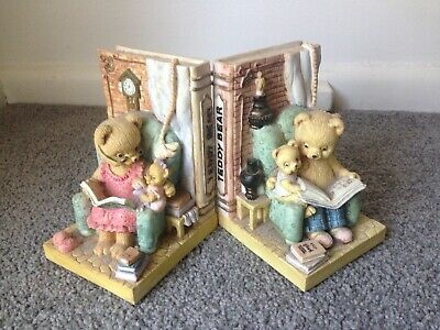 Decorative Teddy Bear Bookkends ~ PICKUP 3129 ONLY!