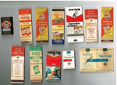 1960-70's- Aust & Os Matchbox Label/skillets Tobacco Advertising ' Used -16Off