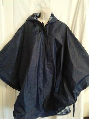 Water Proof Wheelechair cover ponco with hood