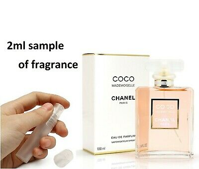 Chanel Coco Mademoiselle women's Perfume Eau De Parfum EDP 2ml sample GENUINE