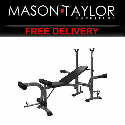 MT Everfit Multi Station Weight Bench Press Fitness Incline FIT-I-BENCH-M AU