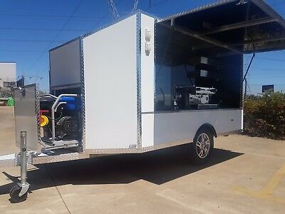 Coffee  Mobile Shop Aluminium Trailer - Ready To Work - Finance Available
