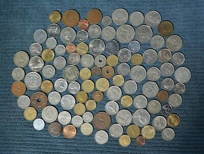 Coin Collection Over 100 Different World Coins