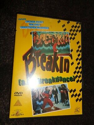 DVD BREAKIN The Movie BREAKDANCE Lucinda Dickey Ben Lokey Shabba Doo 80s CLASSIC