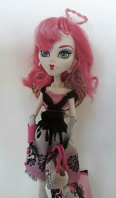C.A. Cupid Signature Monster High Doll Excellent used cond complete