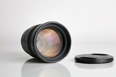 Samyang 85mm f1.4 ASP IF MF MC lens for Fujifilm X Mount, X-T3, X-Pro 2, X-E3