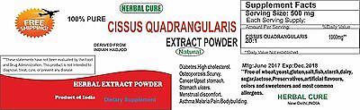 Cissus Quadrangularis 20:1 Extract Powder, For bone strengthing & osteoporosis