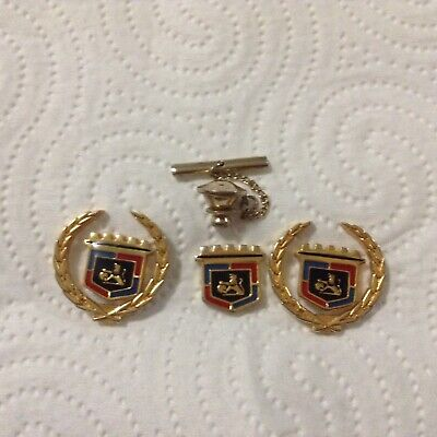 Vintage GMH Statesman Cuff Links & Matching Tie Pin as new