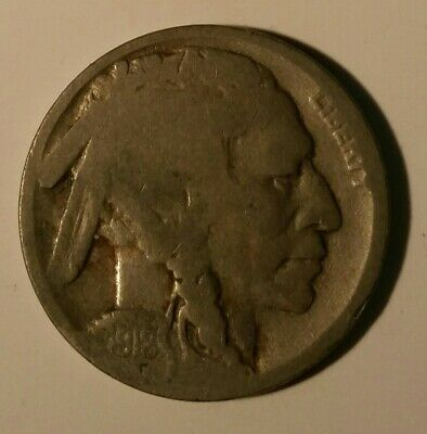 1918 P U.S.A  Buffalo Nickel