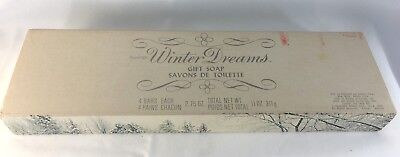 """Amway Vintage Hostess Soaps Boxed """"Winter Dreams"""""""
