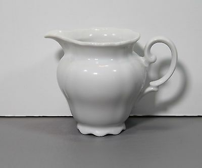 "One Christina or Theresia Porcelain Creamer 3 1/4"" 4oz - Seltmann Weiden Germany"