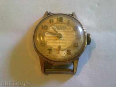 gold plated Vintage Old Swiss made women Wrist Watch HISLON