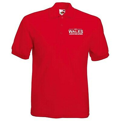 100% Wales Six Nations 2019 Grand Slam Winners Kids Rugby Polo