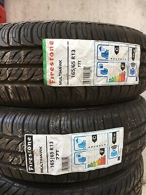 x2 16565R13 77T NEW BUDGET CAR TYRES