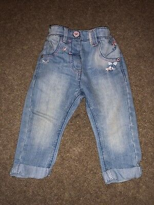 97ae9b788 NEXT BABY GIRL Jeans 9-12 Months - £0.99
