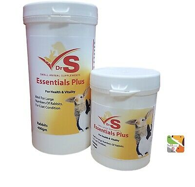 100g Essentials Plus Health & Vitality - Small Pet Supplement - DrS