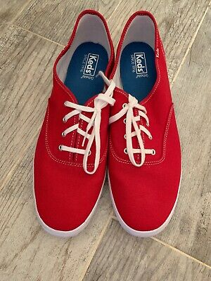 31a8bd0070f VINTAGE CANVAS KEDS Champion Oxford Red WOMENS SZ 13 -  24.95
