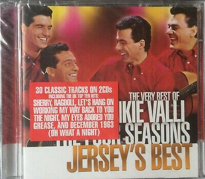 Frankie Valli & The Four Seasons~The Very Best of -Jerseys Best~ NEW/SEALED 2xCD