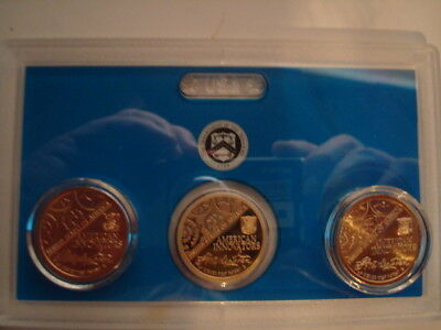 2018 American Innovation Coin Set P~D~S One Dollar Coins.  The P & D Are Uncircu
