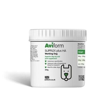 300x800mg Capsules, Supplex Plus HA - Dog Joint Supplement - TDP Aviform