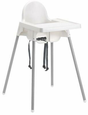 Baby Child High Chair Bebe Style's Classic 2 in1 Highchair With Safety Harness