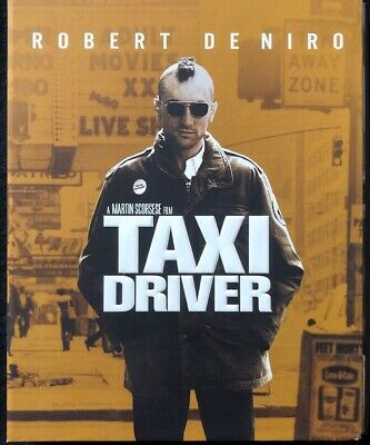 Taxi Driver (Blu-Ray, 1976, Hardcover Collectors Edition) NO DIGITAL CODE