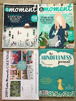 Lot Of In The Moment Magazine # 19 + 2019 Calendar + The Mindfulness Journal