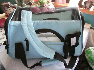 Small Dog/cat Carrier Bag In Blue
