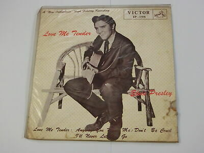 Elvis Presley Love Me Tender Japan Victor Ep-1198