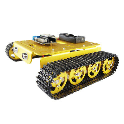 Smart Car Robot Chassis Kit Dual Motor for Arduino Raspberry Pi DIY - Golden