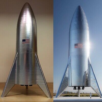Spacex Starship Hopper 1/220 Model  Rocket Space X NASA