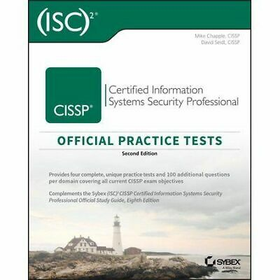CISSP Official (ISC)2 Practice Tests 2nd edition By Mike And David [ E-ß00K ]