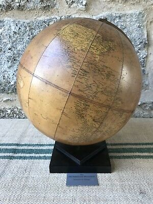 A Belgium 14 inch Terrestrial Globe by  Phillps