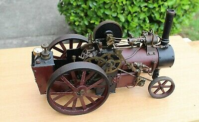"Live steam 1""scale traction engine, spirit burner"