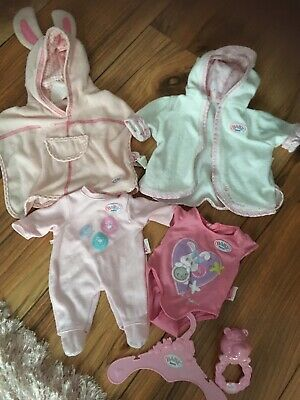 Baby Born Doll Clothes Bundle