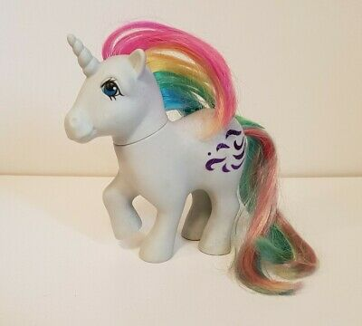 RARE My Little Pony/ Mon Petit Poney Licorne G1: 4 VENTS /Windy -MADE IN FRANCE