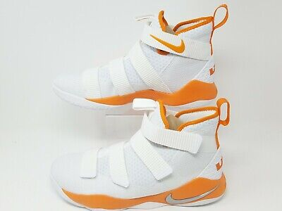 brand new 3f598 f388d New Nike Lebron Soldier XI TB Promo White Basketball Shoes 943155-107 Mens sz  13