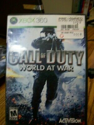 Video Game; XBOX 360; Call of Duty: World at War