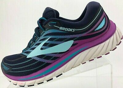 a48291e24b82 Brooks Glycerin 15 G15 Running Shoes Purple Blue Training Sneakers Womens 9  B