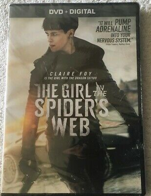 """the Girl In The Spider's Web""  (Dvd,2018)  Factory Sealed Free Shipping"