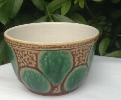 Striking Vintage 1920s/30s Style Earthenware Pottery Dish Bowl