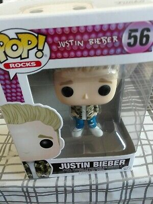 Funko POP! Vinyl Rocks Justin Bieber Collectable Figurine Statue Model No 56