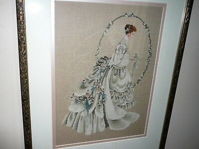 Antique Large Decorative Embroidery Framed