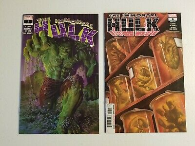 The Immortal Hulk 1 And 8 Comics