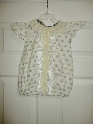 Persnickety 4 Anna Crown Lace Top Ivory Ruffle Shirt Boutique Cream