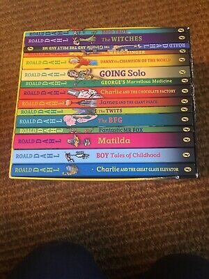 ROALD DAHL COLLECTION 15 x Paperback Book Box Set PUFFIN BOOKS 2013 - W20