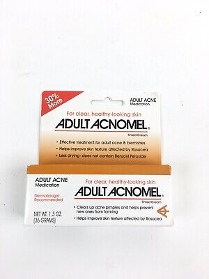 Acnomel Adult Acne Medication Cream - 1.3oz 36 Grams